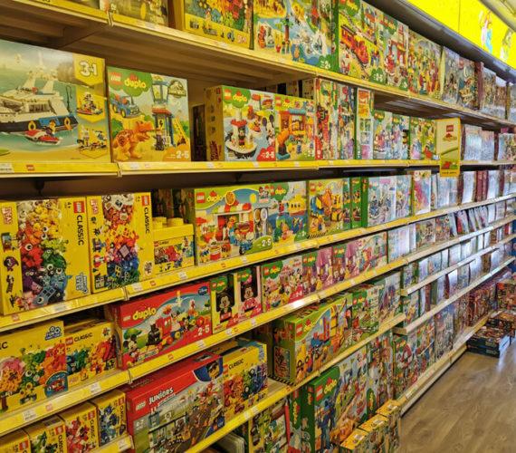 Goedkoop LEGO, DUPLO, Playmobil en NERF