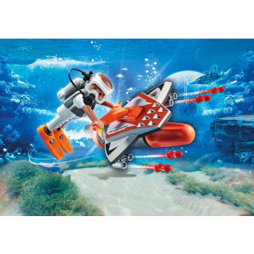 Playmobil Top Agents 70004 SPY Team onderwaterjet