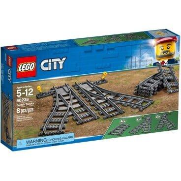 LEGO City Wissels en bochten 60238