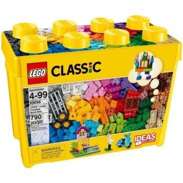 LEGO Classic Opbergbox met stenen groot 10698
