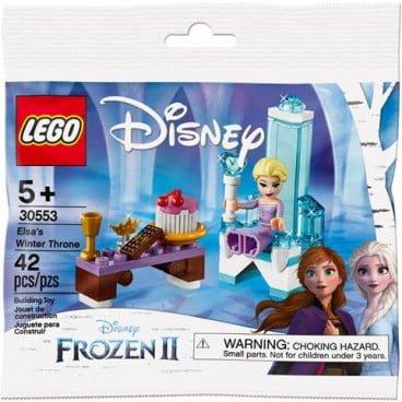 LEGO Frozen Polybag Elsa's Wintertroon 30553