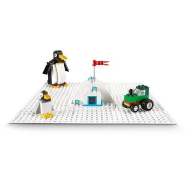 LEGO Classic witte bouwplaat 11010