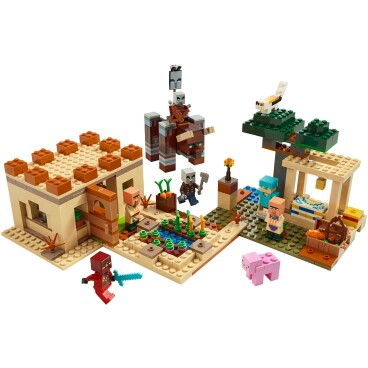 LEGO Minecraft De Illager overval 21160
