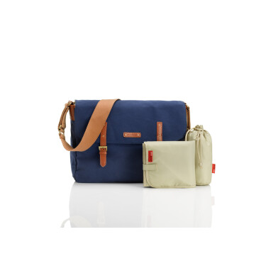 Storksak luiertas Ashley Blue