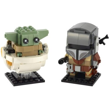 LEGO Brickheadz The Mandelorian en The Child 75317