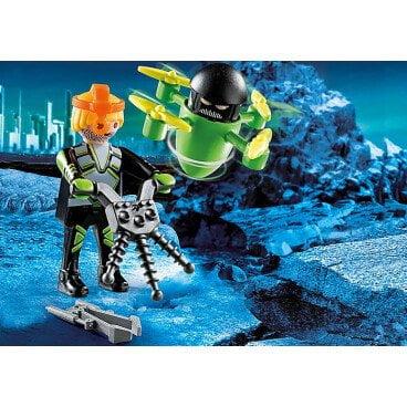 Playmobil Agent met drone 70248