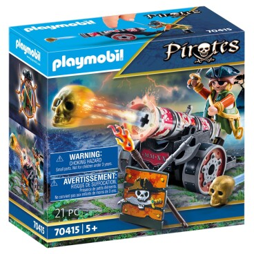 Playmobil Pirates Piraat met kanon 70415