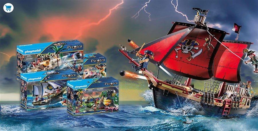 Playmobil Piraten goedkoop online kopen bij KelCha Toys