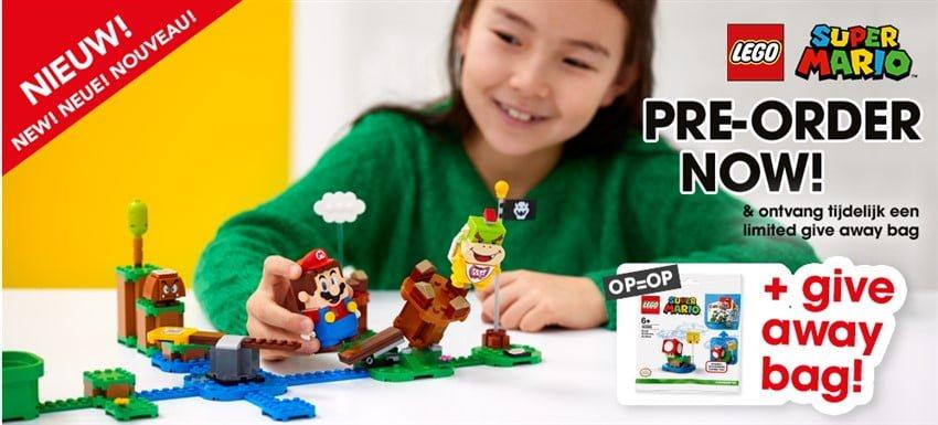 LEGO Super Mario Starterset pre-order