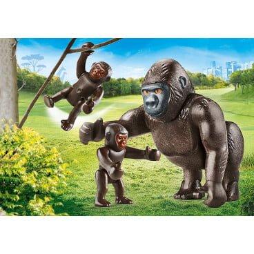 Playmobil Family Fun Gorilla met babies 70360