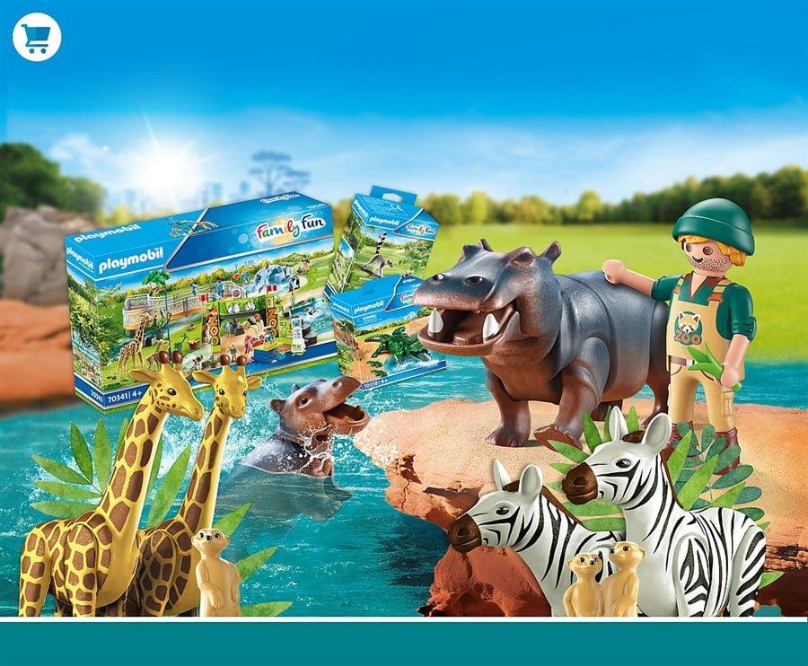 Playmobil dierentuin en wilde dieren kopen