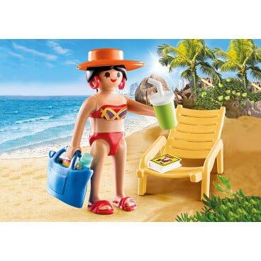 Playmobil Special Plus Vakantieganger met strandstoel 70300