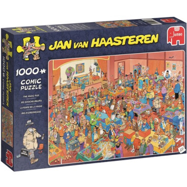 Jan van Haasteren puzzel De goochelbeurs 1000st