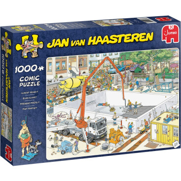 Jan van Haasteren puzzel Bijna klaar? 1000 stukjes