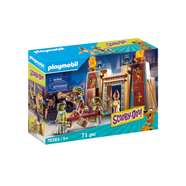 Playmobil Scooby Doo In Egypte 70365
