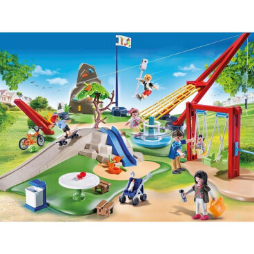Playmobil City Life Grote speeltuin met accessoires 70328