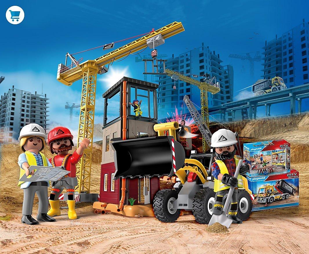 Koop nu de nieuwe Playmobil bouwplaats
