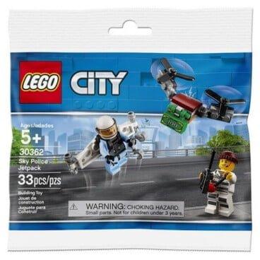 LEGO City Sky Police jetpack polybag