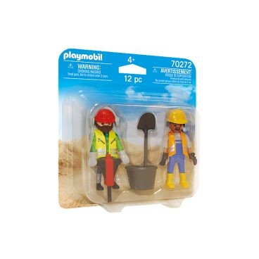Playmobil duopack Bouwvakkers 70272