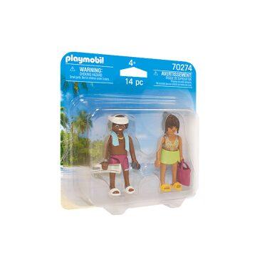 Playmobil duopack Koppel Vakantiegangers 70274