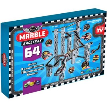 Marble Racetrax Knikkerbaan Grand Prix set
