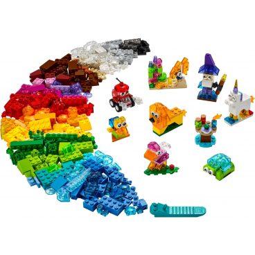 LEGO Classic Creatieve transparante stenen 11013
