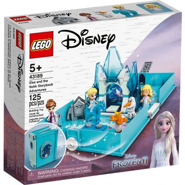 LEGO Disney Princess Elsa en de Nokk verhalenboekavonturen 43189
