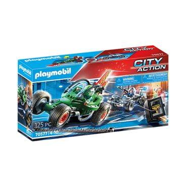Playmobil Politiekart achtervolging van de kluisrover 70577