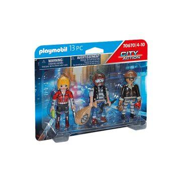 Playmobil City Action figurenset boeven 70670