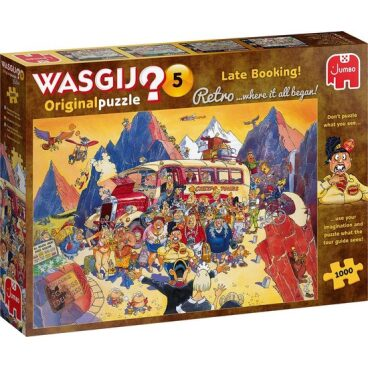 Puzzel WasGij Retro original 5 Last minute boeking