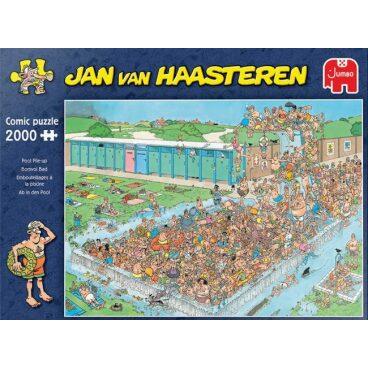 Jan van Haasteren Puzzel Bomvol bad 2000 stukjes