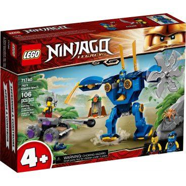 LEGO Ninjago Jay's Electro Mecha 71740