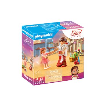 Playmobil Spirit Jonge Lucky en Milagro 70699