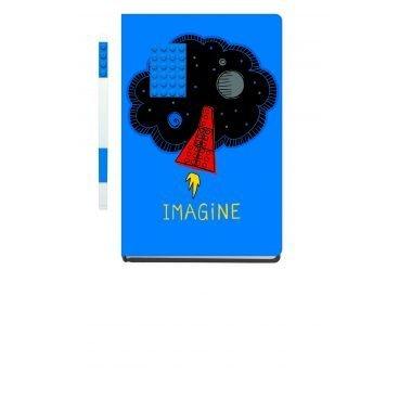 LEGO School Notebook met pen Imagine