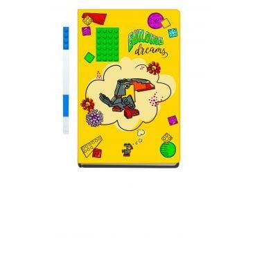 LEGO School Notebook met pen Building Dreams