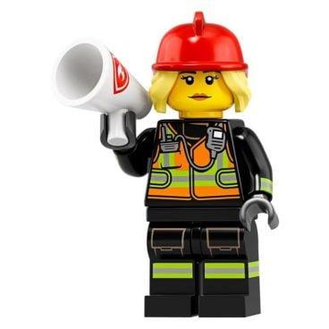 LEGO Brandweervrouw 71025-8