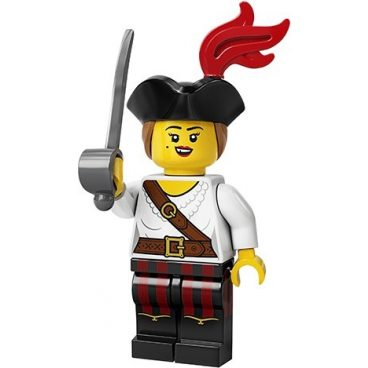 LEGO Minifiguur Piratenvrouw 71027-5