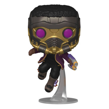 Funko POP! Marvel What if T'Challa Star-Lord 871