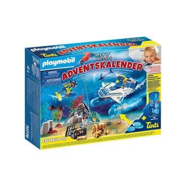 Playmobil Adventskalender Badplezier politieduikmissie 70776